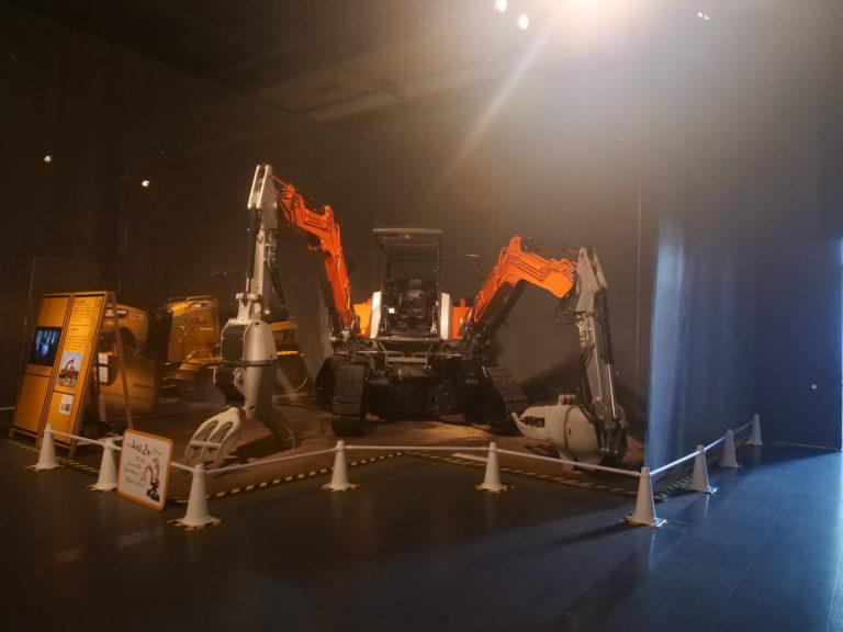 日本科学未来館 「工事中展」に行ってきました。